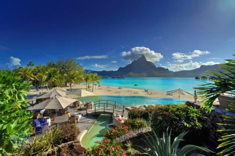 #BT Le Meridien Bora Bora Resort