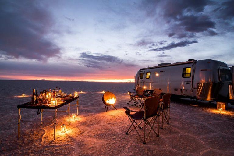 #BT Deluxe Airstream Camper