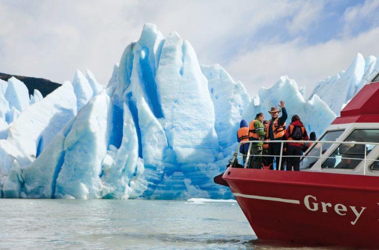 #BT PN Torres del Paine, Navigazione sul Lago Grey