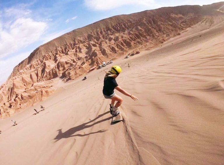 #BT Sandboard ad Atacama, Cile