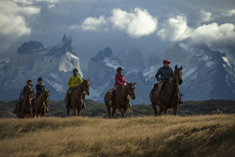 #BT Horseback Ride, Explora Patagonia, Cile