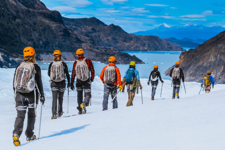 #BT Trekking Ghiacciaio Grey, PN Torres del Paine, Patagonia, Cile