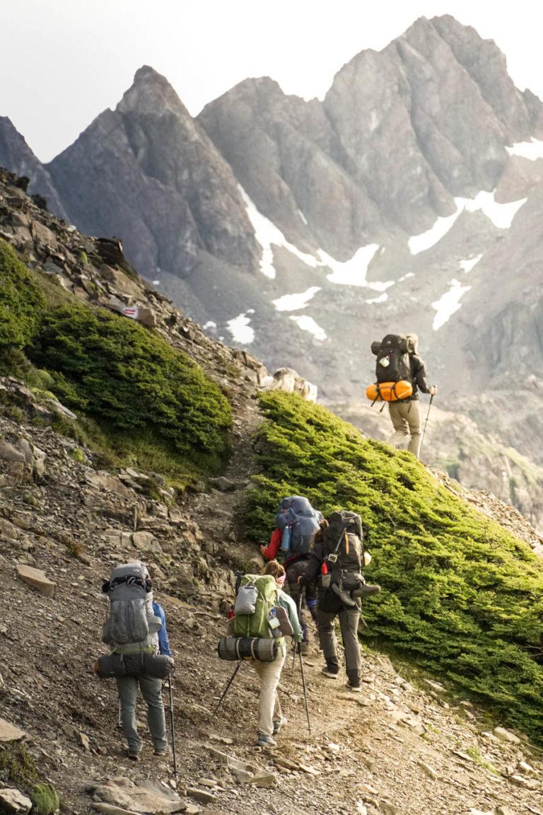 #BT Trekking Dientes de Navarino, Patagonia, Cile