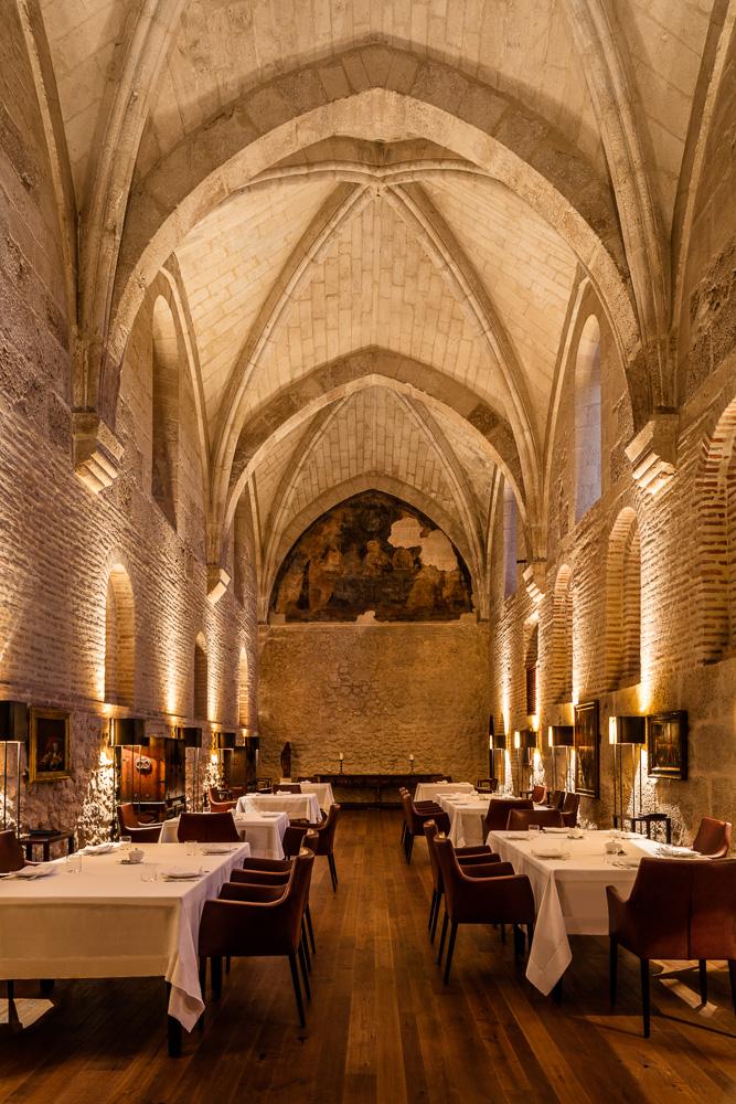 Banfield Travel, Spain, Valladolid, Abadía Retuerta LeDomaine, Refectorio restaurant